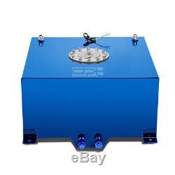 10 Gallon/38l Lightweight Blue Coat Aluminum Race Fuel Cell Tank+level Sender