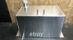 10 Gallon Baffled Alloy Fuel Tank Race/performace With Screw On Filler Cap