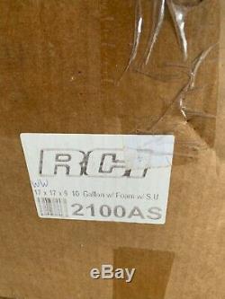 10 Gallon RCI Fuel Gas Tank Aluminum Heavy Duty Street Racing NEW RCI 2100AS