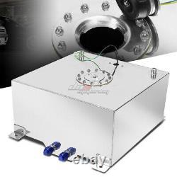 15 Gallon/57l Full Aluminum Racing/drifting Fuel/gas Cell Tank+cap+level Sender