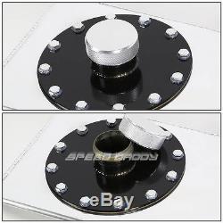 15 Gallon/57l Top-feed Aluminum Racing/drift Fuel Cell Gas Tank+cap+level Sender