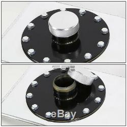 15 Gallon Top-feed Aluminum Race Reserved Tank+cap+level Sender+nylon Line Kit