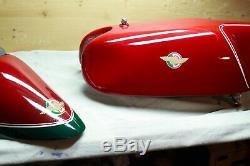 1955-60 Ducati Mariana race tank/seat 125 250 single desmo gran sport bialbero