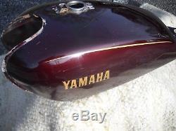 1978 79 80 81 Yamaha SR500 SR 500 Fuel Tank Gas Petrol Vintage Thumper Cafe Race
