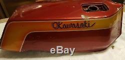 1978 Kawasaki Z1r Gas Tank Fuel Petrol Tc Drag Bike Coffin Race 78 79 80 Kz 1000