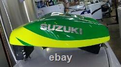 1988 1989 GSXR 750 Airtech Yoshimura 91 F-1 style lightweight racing fuel tank