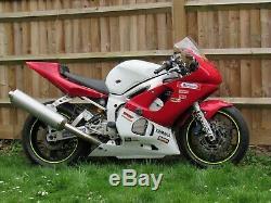 1999 Yamaha R6 Track Race Fairing With Fuel Tank 5eb Yzf 600