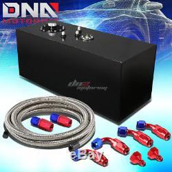 19 Gallon Top-feed Coated Race Fuel Cell Tank+cap+level Sender+nylon Line Kit