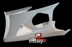 2007-2008 Suzuki Gsxr Gsx-r 1000 Race Bodywork Fairing Tail Ss Fuel Tank K7