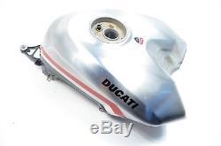 2010 Ducati 1198S Corse Fuel Gas Petrol Aluminium RACE Tank RARE 586.1.100.1AA