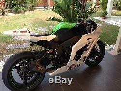 2011-2016 Kawasaki Zx10r Zx-10r Race Bodywork Fairing Sbk Tail Seat Fuel Tank
