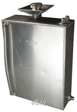 2 Gallon Square Aluminium JIC Fuel Tank with Splash Bowl Race OBPFTSBJIC001