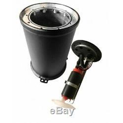 2 l Vorlauftank mit Pumpe, Benzin Fuel Catchtank, Rallye, Racing, Motorsport