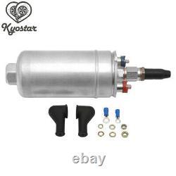 3L Aluminum Racing Car Swirl Fuel Surge Tank + 2PCS External 044 Dual Fuel Pump