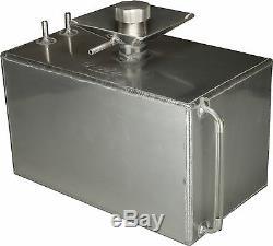 3 Gallon Square Aluminium Foam Filled Fuel Tank with Splash Bowl Race OBPFTSB011