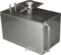 3 Gallon Square Aluminium Fuel Tank with Splash Bowl Rally Race OBPFTSB002