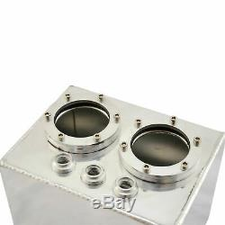 4,5 Liter Aluminium Catchtank 044 Aufnahme Alu Kraftstofftank Benzin Rallye Tank