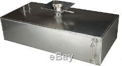 6 Gallon Square Aluminium Foam Filled Fuel Tank with Splash Bowl Race OBPFTSB014