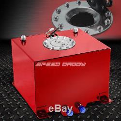8 Gallon/30.5l Red Coat Aluminum Racing/drift Fuel Cell Gas Tank+level Sender