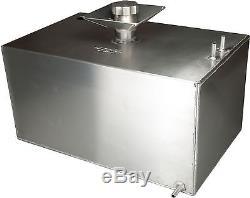 8 Gallon Square Aluminium Fuel Tank with Splash Bowl & Sender Hole Race OBPFTSSB03