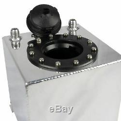 9 Liter Aluminium Kraftstoff Tank Rallye Motorsport Renntank 9L Benzin Sensor