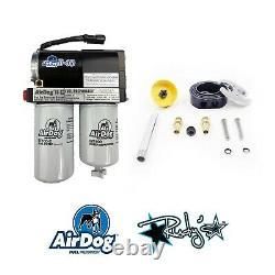 AirDog II 4G 100 GPH Fuel Lift Pump & RDP Sump For 98.5-04 Dodge 5.9L Cummins