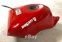 Aluminium fuel tank FEBUR 24 lt racing ducati 848 1098 1198
