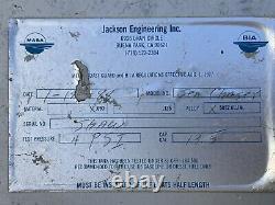 Aluminum Marine Boat Gas Tank Fuel Cell Jackson Eng. 13 gallon racing