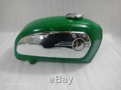 BMW R75 5 Toaster Painted Racing Green Tank 1972 Model With Chrome Side Pltes