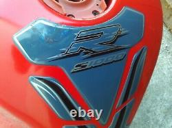 Bmw S1000r Fuel Tank Petrol Racing Red 2014-15 Oy64ujc