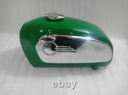 Brand New BMW R75/5 Racing Green Fuel Tank 1972 Model With Chrome Side Plates