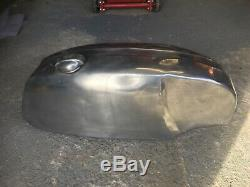 Cafe racer custom alloy petrol tank used. Triton bsa triumph Honda kawasaki race