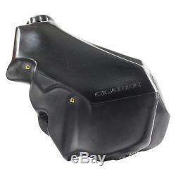 Clarke Racing NEW Mx Suzuki RM 250 1996-2000 Motorbike 12.8L Black Fuel Tank