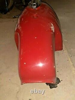 Classic racing petrol tank