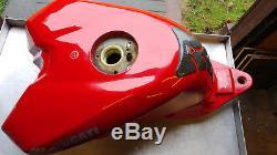 DUCATI 1098 1198 848 Fuel Gas Petrol Fuel Tank RED RACE SPARE