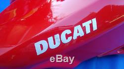 DUCATI 1198 S 1098 848 EVO RED FUEL TANK PETROL TANK with PUMP RACE TRACK SPARE