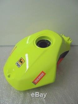 Derbi GPR50 Malossi Replica Fluo Yellow Fuel Tank Assy New RRP £567.18