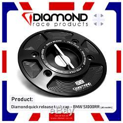 Diamond Race Products Bmw Quick Release Tank Fuel Cap S1000rr 2009 2010