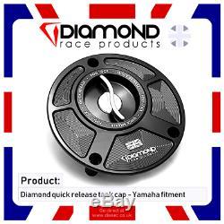 Diamond Race Products Yamaha Quick Release Tank Fuel Cap Mt07 Mt-07 2017, 2018