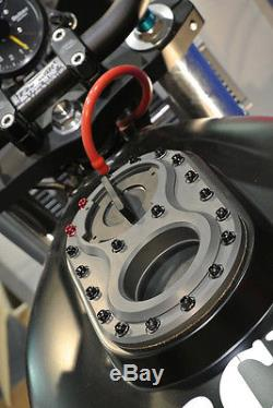 Dry Break Twist Cap Combo Billet Motogpwerks Product Race Superbike Scca Ama Sbk