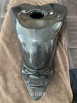 Ducati 1098 Carbon Tank Fuel Reservoir Racing