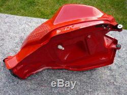 Ducati 899 959 tank, pump, Ducabike cap, key, stomp pads, foam for road or race bike