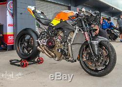 Ducati Corse V4r V4 R Large Fuel Tank Superbike Race Sub Frame Subframe