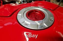 Ducati Panigale V4 S CNC RACING Pramac Limited Edition Fuel Tank Cap Silver-Red