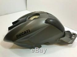 Ducati Street Fighter Fuel / Gas Tank, Racing Titanium color