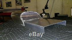 Flat track race seat, aluminum. (made to your dimensions)made in USA