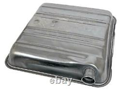 Fuel Tank 16 Gallon Stainless Steel Natural Chevy Each