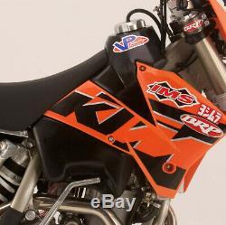 Gas tank black KTM RACING EXC SX MXC EXC-G DESERT Ims/Rool Designs
