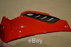 Genuine OEM BMW S1000R S1000RR Rightt Fuel Tank Trim BMW 46638560128 Racing Red