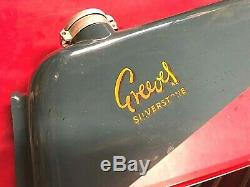 Greeves Silverstone Gas Petrol Tank Racing + Competition Near New